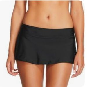 NWT Merona Black Swim XL